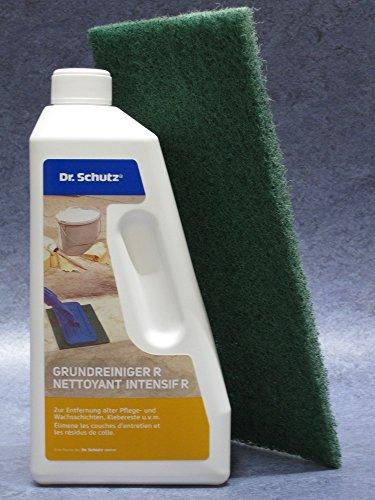 Dr.Schutz Grundreiniger R 750 ml (D/F) + grünes Handpad Aus neuster Abfüllung sofort lieferbar