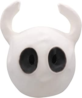 Hollow Knight Mask Funny Game Toy for Halloween White