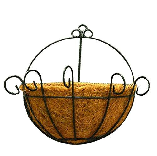 Pot plante Récipient/Pot de fleurs en fibre de noix de coco/mural/33 x 30 cm