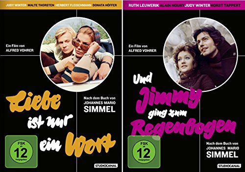 Johannes Mario Simmel: DuoSet | Liebe ist nur ein Wort + Und Jimmy ging zum Regenbogen [2-DVD]