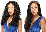 LONG LOOSE DEEP 4PCS (#2 Dark Brown) - Model Model REMIST Indian Remy Wet & Wavy 100% Human Hair Weave Extension