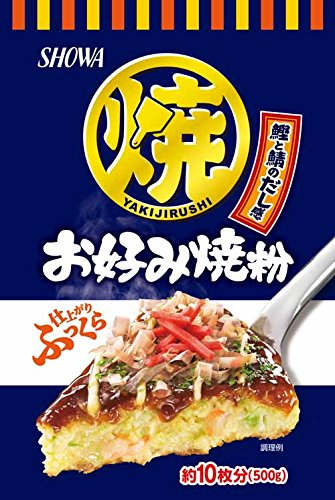 昭和産業 昭和 SHOWA お好み焼粉 500g [3182]