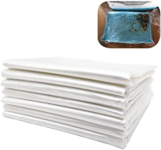 PeSandy Disposable Rabbit Cage Liner, Plastic Bunny Cage Mat Film to Replace Diapers Suitable for Most Rabbit, Hamster, Gu...