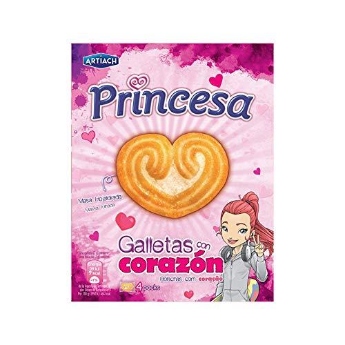 Artiach Princesa Galletas con Corazón - 120 g