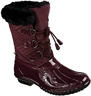 Skechers Hampshire - Manchester Duck Boot Burgundy