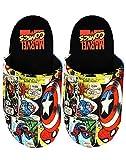Marvel Avengers Slippers Comic Men's Polyester House Shoes 10 UK