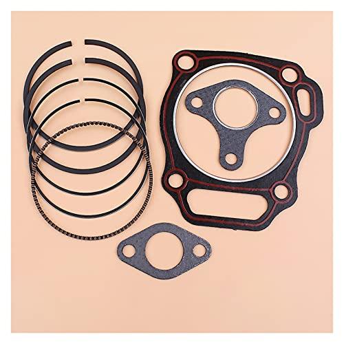 Ajuste perfecto Junta de silenciador de cilindro de anillo de pistón de 88 mm para H-ONDA GX390 188F 13HP Motor Generador de motor Bomba de agua 12251-ZF6-W00 13010-ZF6-003 Buena resistencia a la abra