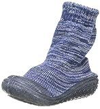 Playshoes Jungen Unisex Kinder Socke gestrickt Hohe Hausschuhe, Blau (Marine 11), 26/27 EU