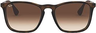نظارة شمسية باطار مربع الشكل من راي بان بقياس اسيوي، رقم الموديل RB4187F