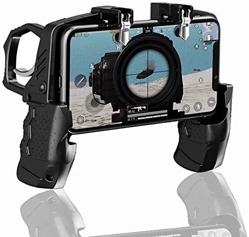 SQINAA K21 Handy-Spiel-Controller für PUBG/Call of Duty/Fortnite zielen Trigger-Feuer Buttons L1R1 Shooter Sensitive Joystick, Gamepad für 4,7-6,5 Zoll iPhone & Android Phone
