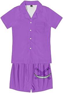 Hommes Peignoir Pyjama Robe de Chambre Vêtement de Loisirs Pyjama Coton Carreaux