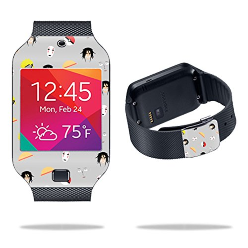 MightySkins Skin Compatible with Samsung Galaxy Gear 2 Neo Smart Watch Cover Skins Sticker Watch Anime Fan