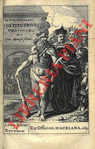 M. Fabii Quintiliani Institutionum oratoriarum libri duodecim. Summa diligentia ad fidem vetustissimorum codicum recogniti ac restituiti. Accesserunt huic renovatae editioni.Declamationes, quae tam