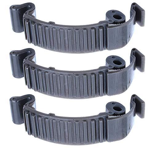 Adefol 3 x Top Zylinderabdeckung, Schnappverschluss für Husqvarna 435 440E 445 450 450E 570 575 Kettensäge Nachbauteil 503894701