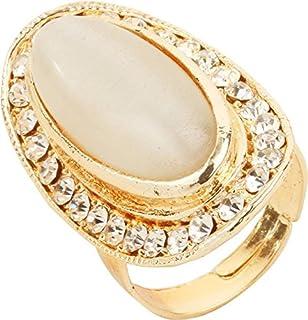 Bling N Beads Moonstone Adjustable Rings for Girls & Women