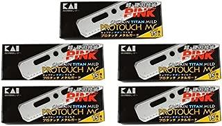 KAI Captain Titan Mild Pro Touch Blades (5 packs)