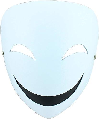 barato en alta calidad Máscara de Navidad de Halloween Máscara Oscura de de de la Sombra del escorpión de la Bala Cos apoyos Máscara de la Resina del Smiley del Payaso Máscaras (Color   blanco, Talla   18  20CM 7  8inch)  Envio gratis en todas las ordenes