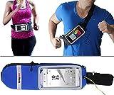 Navitech Blue Smartphone Running/Jogging Water Resistant