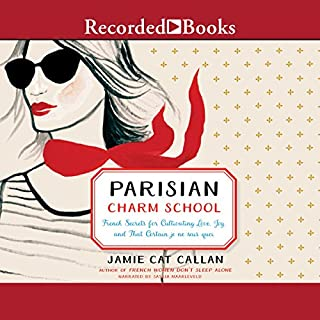 Parisian Charm School audiobook cover art