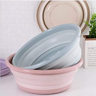 Lave-Portable multifonction Rafle Bowl pliant Récipient Seau Portable bassin Pliable silicone Lavabo extérieur pliant Lava...