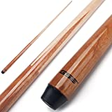 GSE Games & Sports Expert 36'/42'/48'/58' 1-Piece Canadian Maple Billiard/Pool Cue Sticks (58-Inch / 20oz)