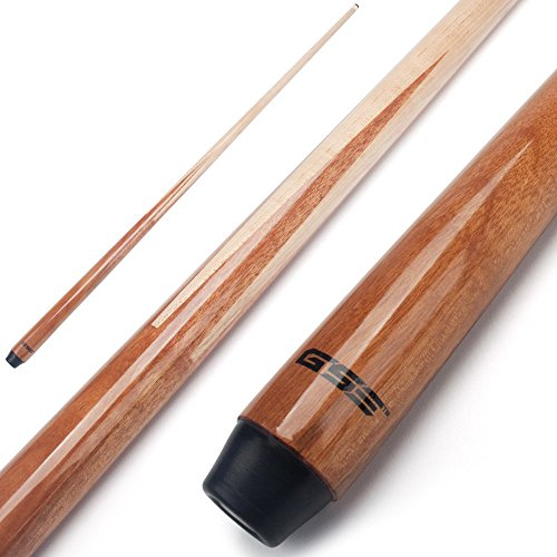 """GSE Games & Sports Expert 36""""/42""""/48"""" 1-Piece Short Canadian Maple Billiard/Pool Cue Stick (42-Inch / 14oz)"""