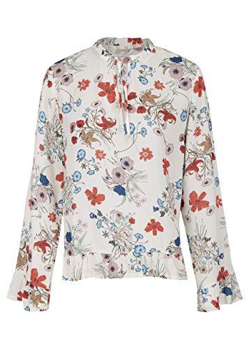 HEIMATLIEBE Bluse mit Serafinokragen und Schluppe