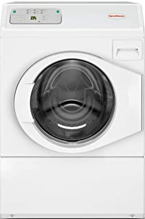 Speed Queen LFNE5BSP115TW01 27'' Inch Commercial Front Load Washer with 3.42 cu. ft. Capacity, 1200 RPM, in White
