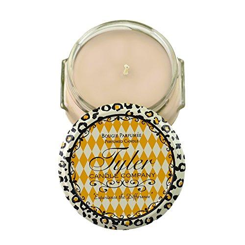 Tyler Glass Fragrance Candle 3.4 Oz,High Maintenance