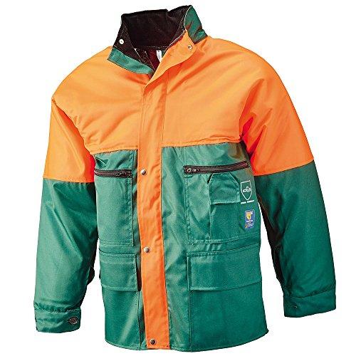 Circumpro 8–6621/50–52giacca con protezione antitaglio, verde/arancione, taglia 50–52