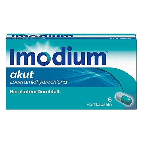 Imodium akut Hartkapseln bei akutem Durchfall, 6 St. Kapseln