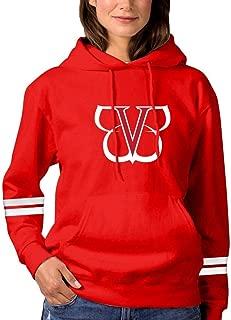 Logo Black Ve-il Bri-des Womens Hoodies Hooded Fashion Sweatshirt Drawstring Pullover with Pocket