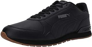 Puma Unisex's St Runner V2 Full L Black-castleroc Leather Sneakers