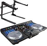 Hercules - Controlador de DJ universal para DJ (USB, Bluetooth, soporte para portátil keepdrum...
