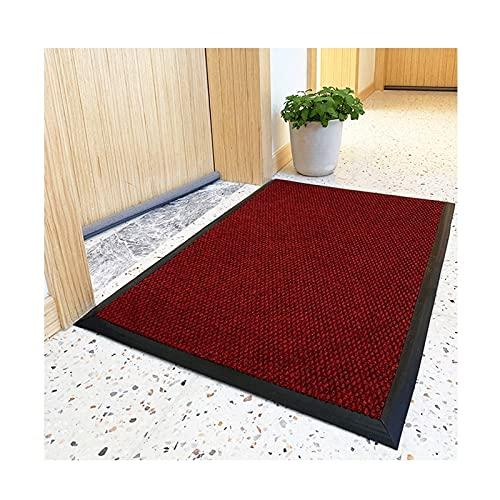 Dörrmatta entrédörr utanför - halkskyddsmatta, tvättbar och skötsam dörrmatta, rengöringsmatta för entrématta (Color : C, Size : 80cmx160cm)