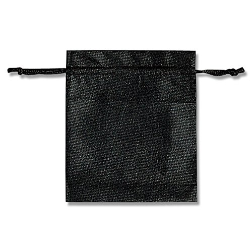 シモジマ ヘイコー 不織布 巾着袋 Kシリーズ 底マチ付 クロ 24x28cm 10枚入 008739910
