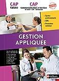 Gestion appliquées - CAP Cuisine et CAP Commercialisation et Services en HCR