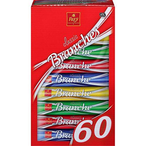 Schokoladenriegel - Milchschokolade - 'Branches Classic 60er' von Chocolat Frey Schweiz - 1.62 Kg, aus dem Traditionshaus Frey