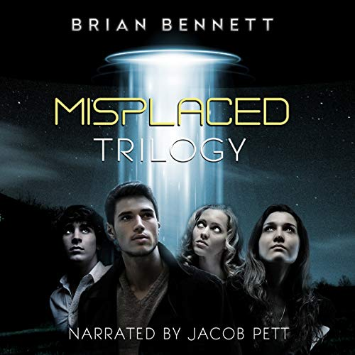 Misplaced Trilogy audiobook cover art