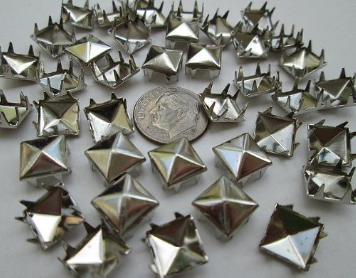 Nailheads Spots Pyramid Studs 706 8-prong 5/16
