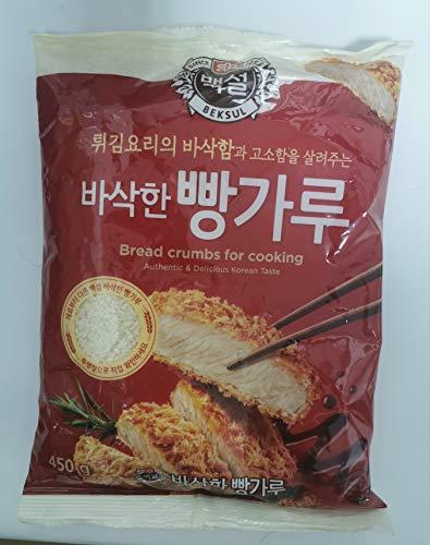 CJ Beksul pan migas 450 g – se puede utilizar para cualquier tipo de alimentos fritos con la mejor crujiente.