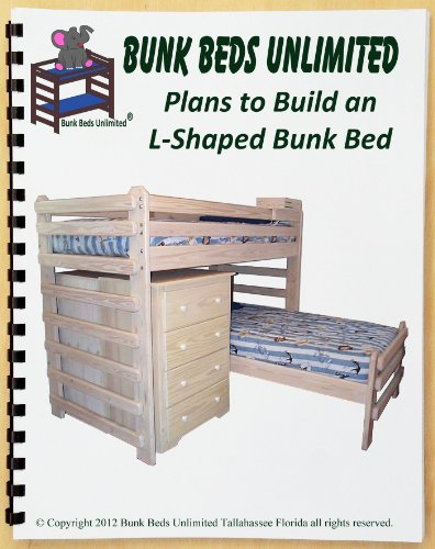 Bunk Bed Diy Woodworking Plan To Build Your Own L Shaped Twin Over Twin And Hardware Kit Wood Not Included Buy Online In Gibraltar At Gibraltar Desertcart Com Productid 73279985