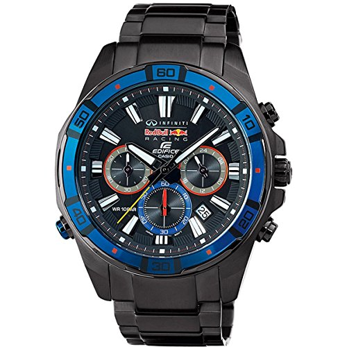 cd58561fcbcc Casio Edifice Red Bull Racing EFR 534RBK 1AER Mens Chronograph Highly  Limited Edition