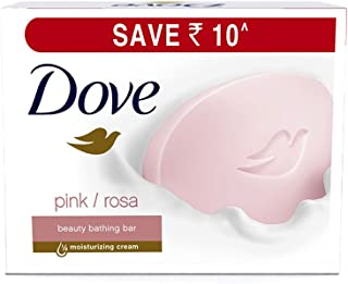 Dove Pink Rosa Beauty Bathing Bar, 100 g (Pack of 3)