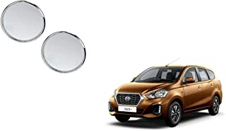 Autoladders Chrome Blind Spot Mirror Set of 2 for Datsun Go Plus