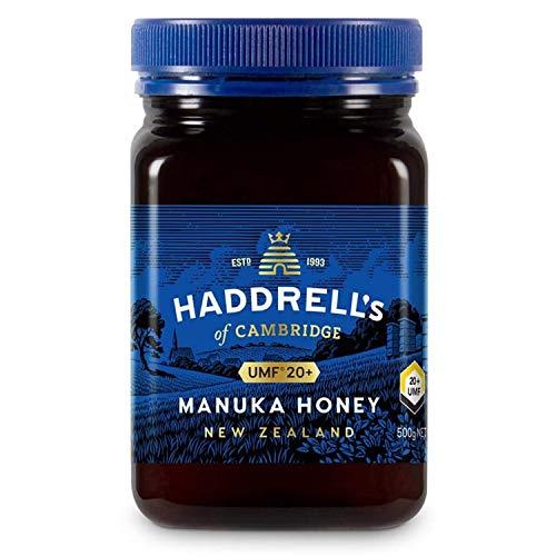 Haddrell's of Cambridge | Miel de Manuka UMF 20+ MGO 850+ | Nouvelle-Zélande Naturels De Première Qualité Miel Manuka | 500 grammes