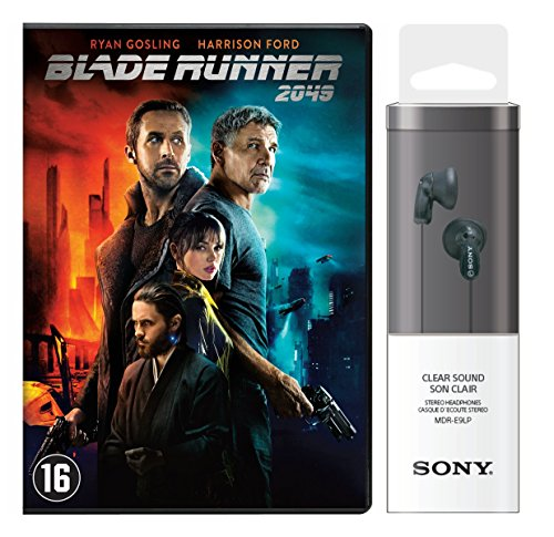 Blade Runner 2049 + Sony Headphone MDR-E9LP Black - (Limited Special Edition)