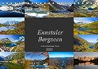 Ennstaler Bergseen in den Schladminger Tauern (Tischkalender 2022 DIN A5 quer): Die schoensten Seen in den Schladminger Tauern (Monatskalender, 14 Seiten )