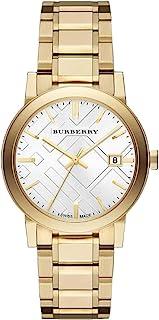 Swiss Rare Gold Silver Date Dial 34mm Women Wrist Watch The City BU9103