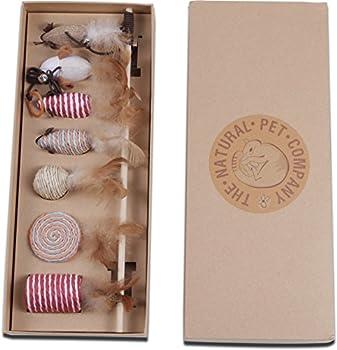 Le Naturel pour Animal Domestique Société Cat Toys Collection dans Une boîte Cadeau